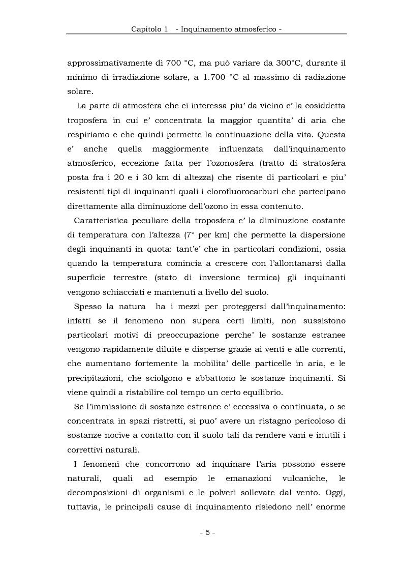 Anteprima della tesi: Metodologia cinematica per la misura delle polveri sottili in ambiente urbano, Pagina 4