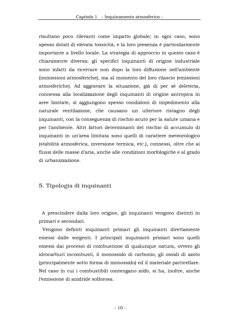 Anteprima della tesi: Metodologia cinematica per la misura delle polveri sottili in ambiente urbano, Pagina 9