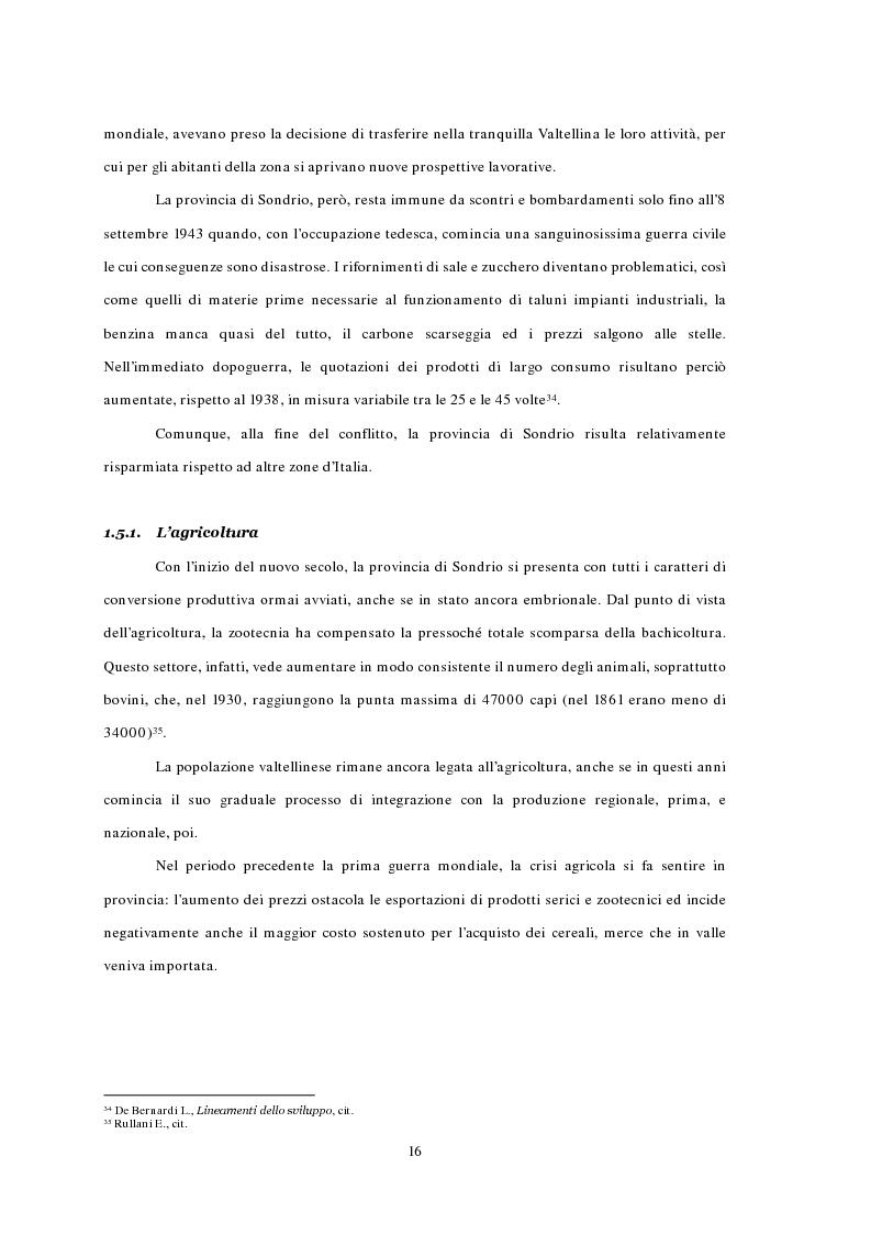 Anteprima della tesi: L'emigrazione ed il frontalierato in provincia di Sondrio, Pagina 16