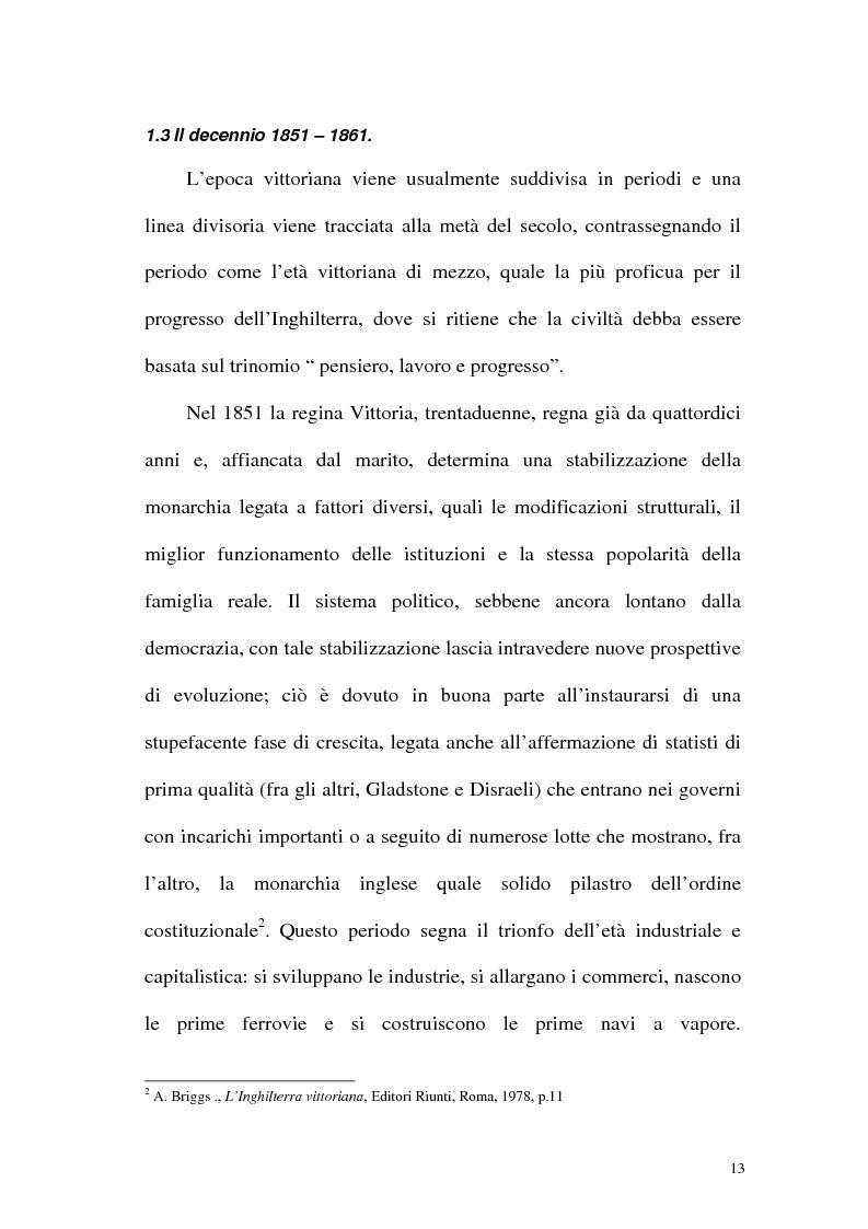 Anteprima della tesi: Funzione iconografica dell'abbigliamento femminile nella commedia tardo vittoriana, Pagina 13