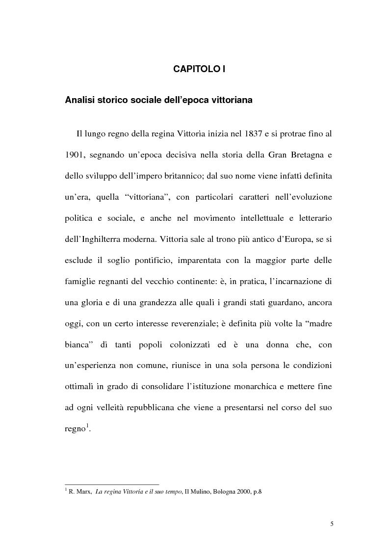 Anteprima della tesi: Funzione iconografica dell'abbigliamento femminile nella commedia tardo vittoriana, Pagina 5