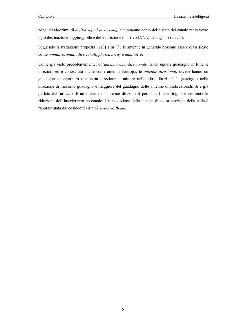 Anteprima della tesi: Algoritmi di scheduling per sistemi ad accesso radio con antenne intelligenti, Pagina 6