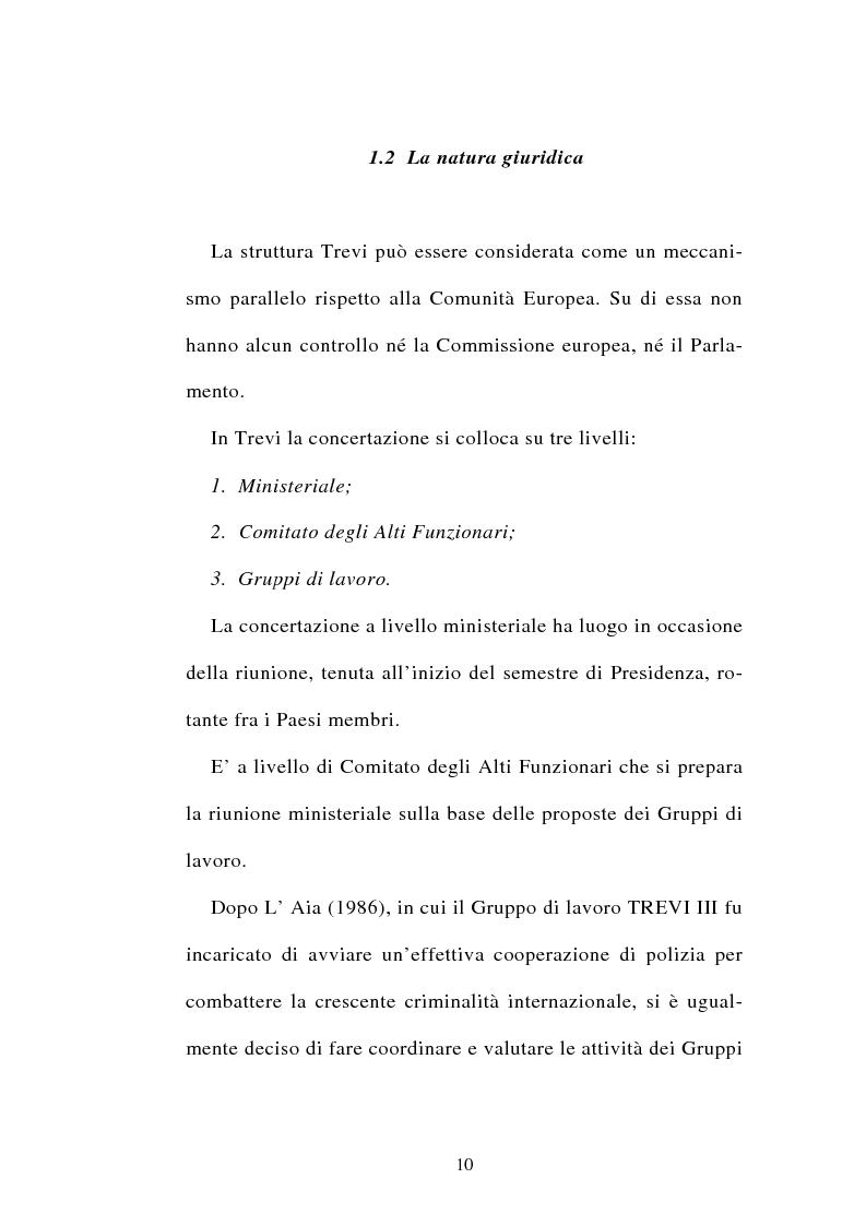 Anteprima della tesi: La cooperazione tra i servizi di polizia degli stati membri dell'Unione europea, Pagina 10