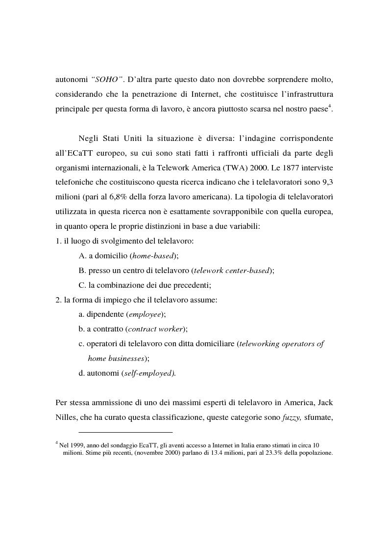 Anteprima della tesi: Collaborare senza mai vedersi: il telelavoro in una virtual organization transnazionale, Pagina 11