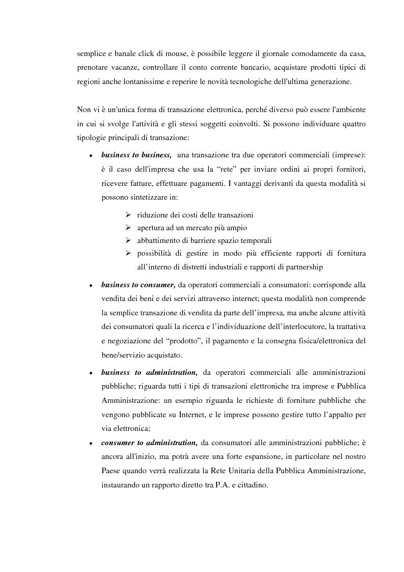 Anteprima della tesi: Gli effetti della E-economy sui trasporti: il caso del commercio elettronico, Pagina 5