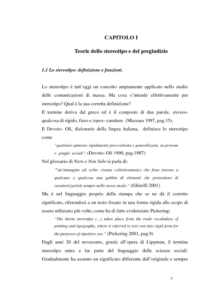 Anteprima della tesi: Mass media e immagini dell'Islam: i quotidiani italiani e l'11 settembre, Pagina 7