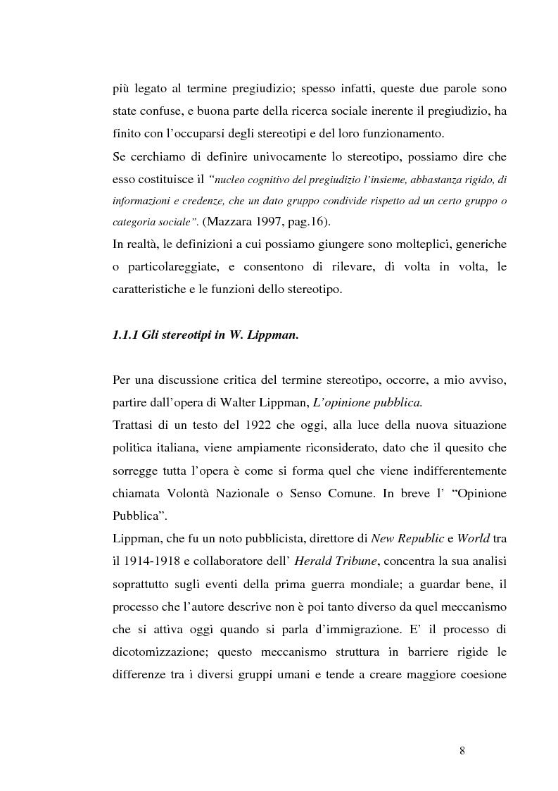 Anteprima della tesi: Mass media e immagini dell'Islam: i quotidiani italiani e l'11 settembre, Pagina 8