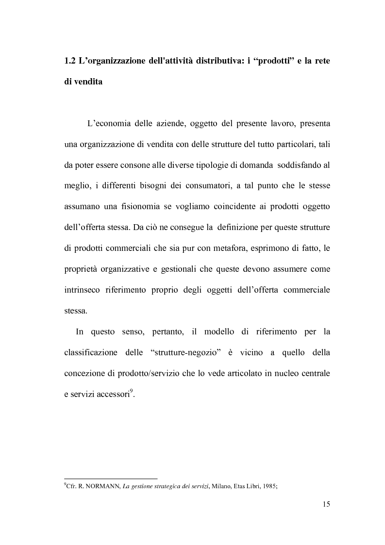 Anteprima della tesi: Il controllo direzionale nelle aziende della grande distribuzione. Il caso Conad, Pagina 11