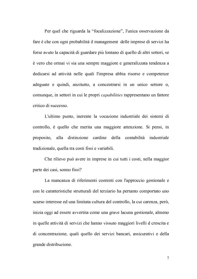 Anteprima della tesi: Il controllo direzionale nelle aziende della grande distribuzione. Il caso Conad, Pagina 3