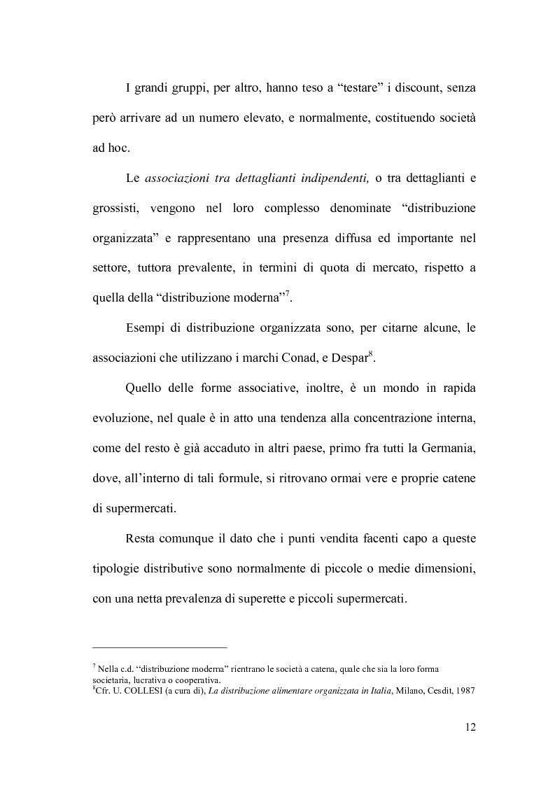 Anteprima della tesi: Il controllo direzionale nelle aziende della grande distribuzione. Il caso Conad, Pagina 8