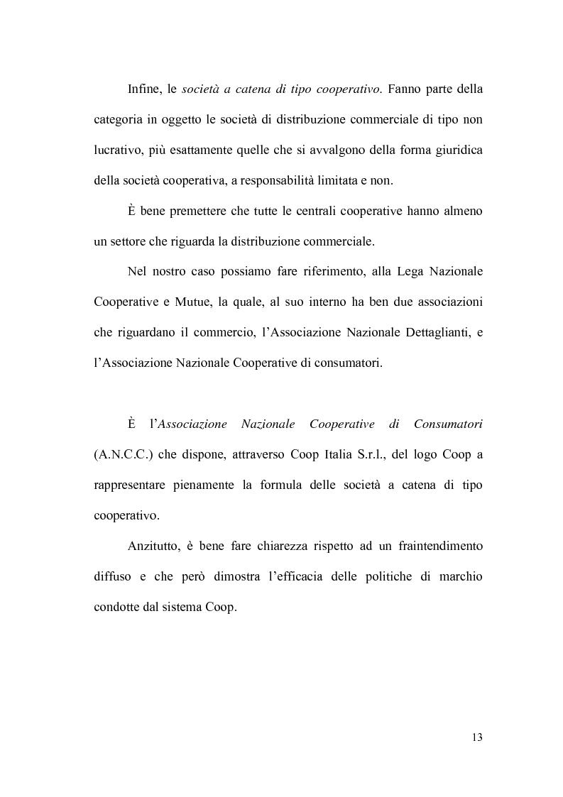 Anteprima della tesi: Il controllo direzionale nelle aziende della grande distribuzione. Il caso Conad, Pagina 9