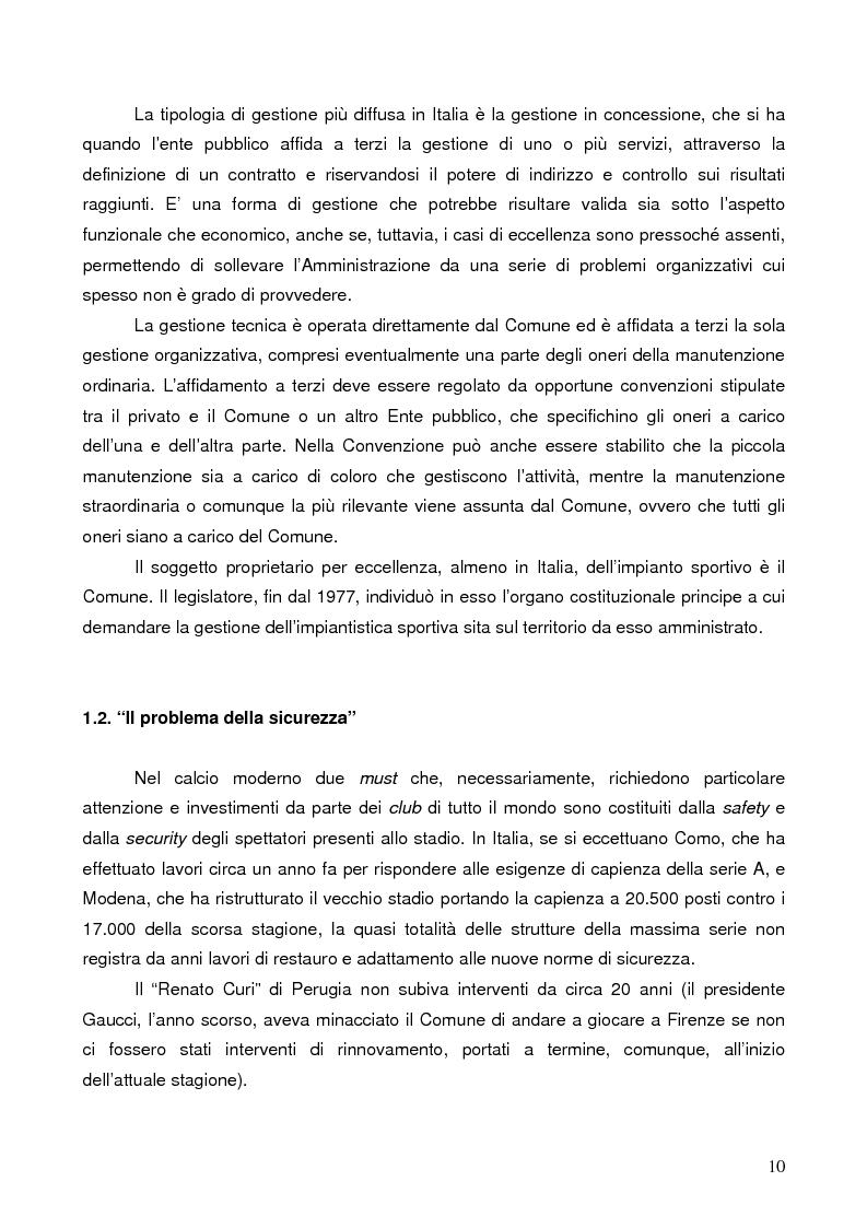 Anteprima della tesi: Il marketing degli stadi di calcio in Europa: il caso dell'Amsterdam Arena, Pagina 7