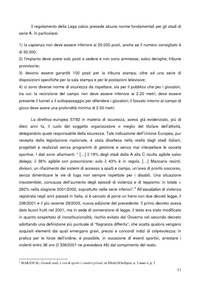 Anteprima della tesi: Il marketing degli stadi di calcio in Europa: il caso dell'Amsterdam Arena, Pagina 8