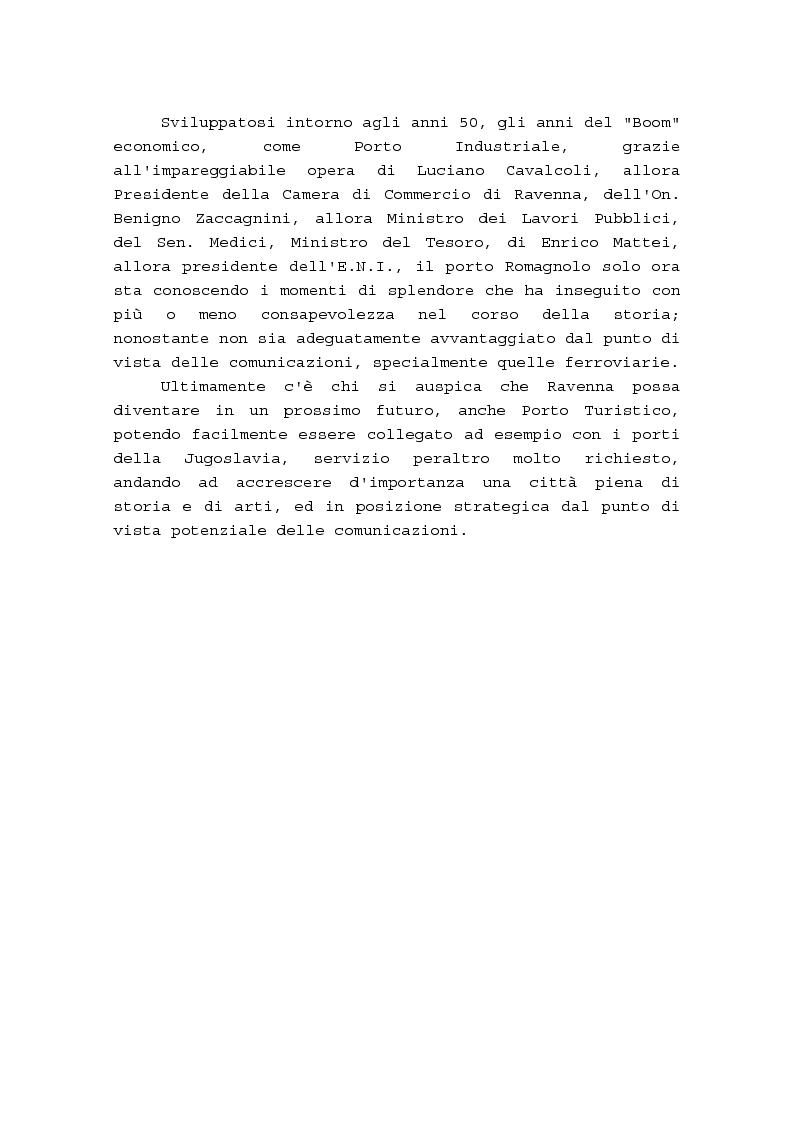 Anteprima della tesi: Il porto di Ravenna dal fascismo ai nostri giorni, Pagina 2