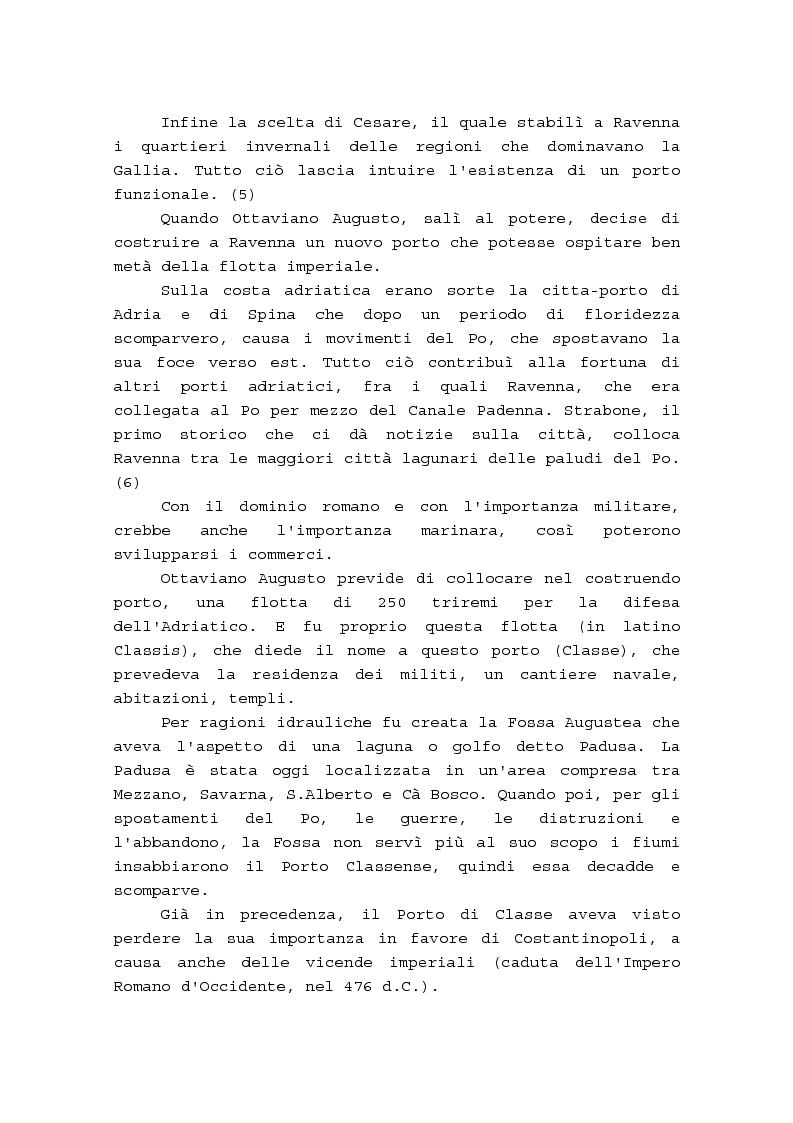 Anteprima della tesi: Il porto di Ravenna dal fascismo ai nostri giorni, Pagina 7