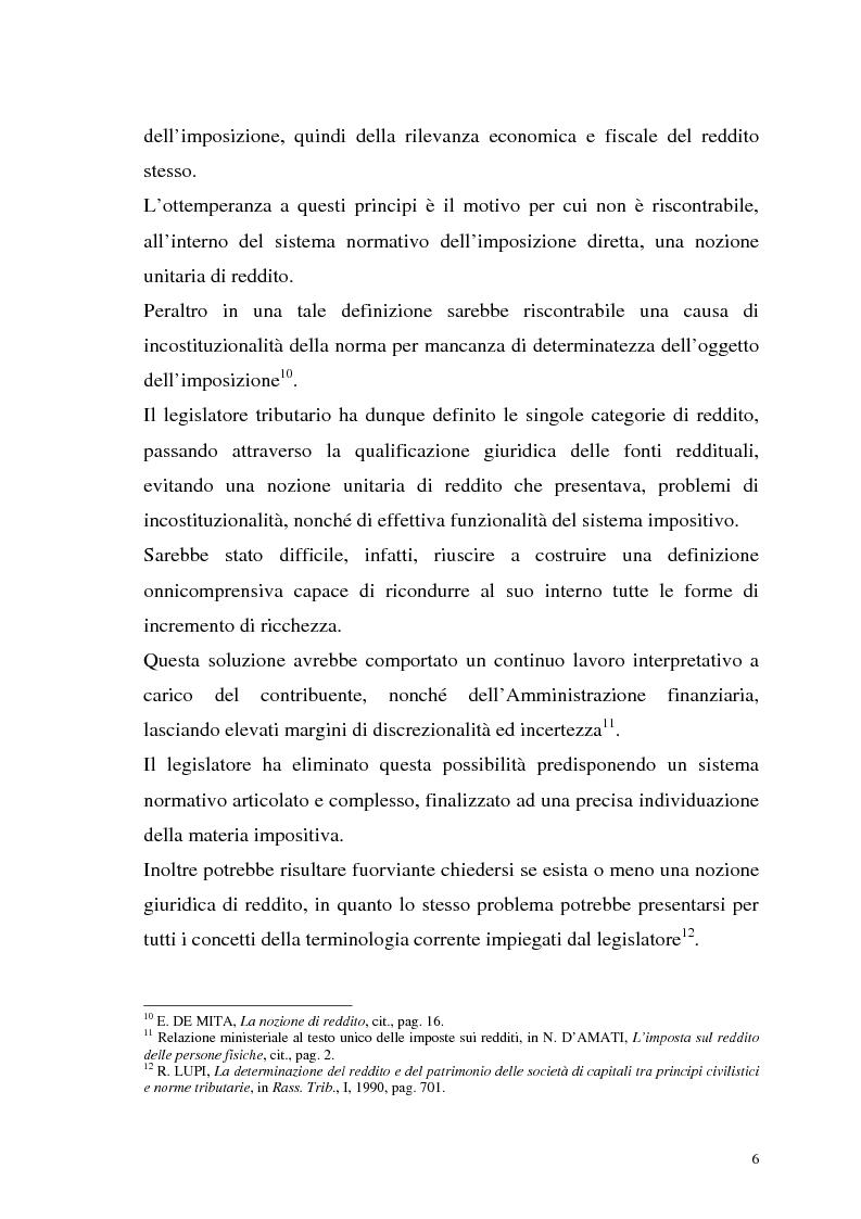 Anteprima della tesi: I criteri di valutazione nel reddito d'impresa, Pagina 4