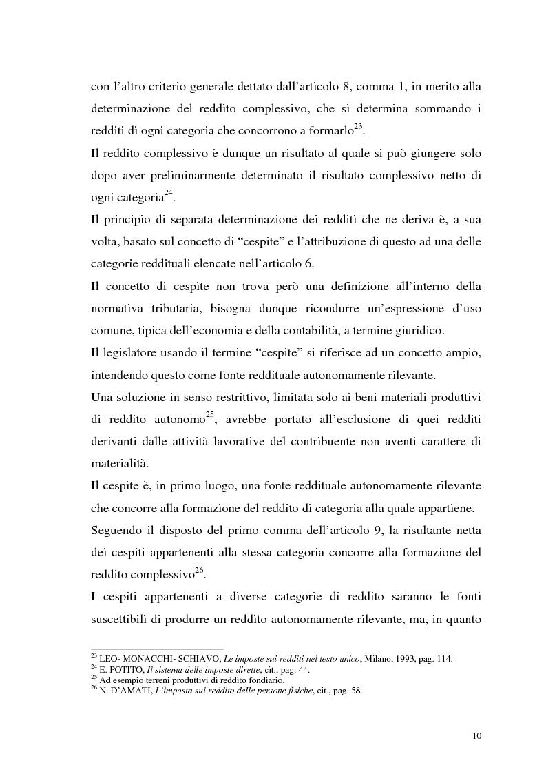 Anteprima della tesi: I criteri di valutazione nel reddito d'impresa, Pagina 8