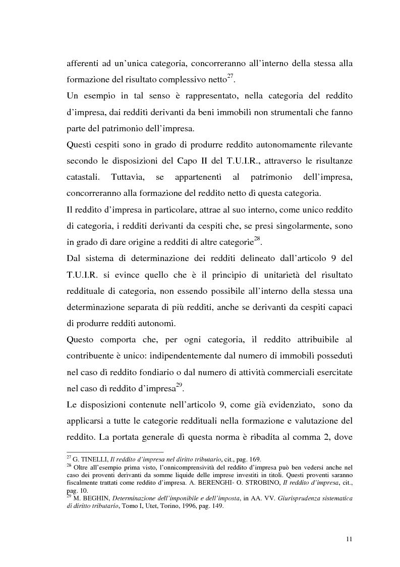 Anteprima della tesi: I criteri di valutazione nel reddito d'impresa, Pagina 9