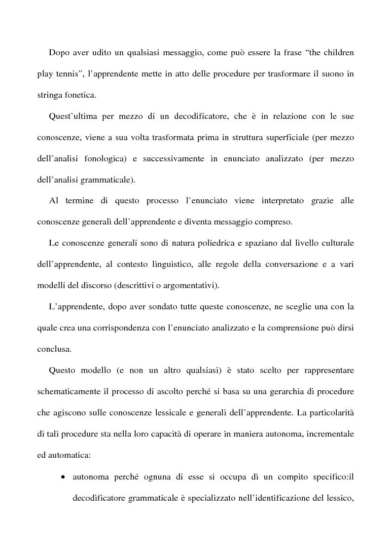 Anteprima della tesi: L'apprendimento dell'inglese L2 a lezione privata, Pagina 12