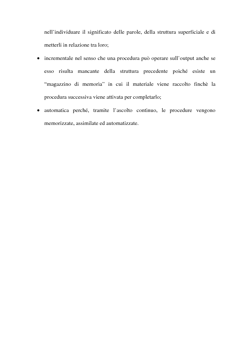 Anteprima della tesi: L'apprendimento dell'inglese L2 a lezione privata, Pagina 13