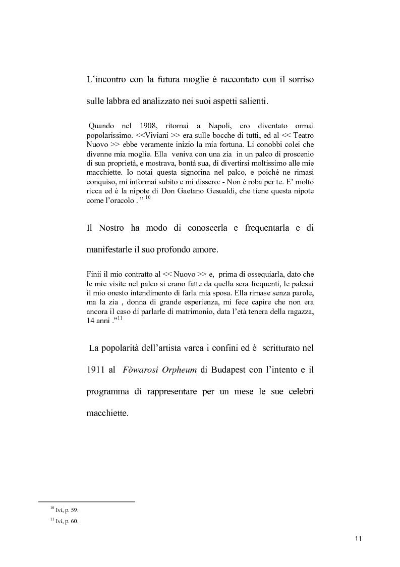 Anteprima della tesi: Viviani e il teatro dialettale, Pagina 10