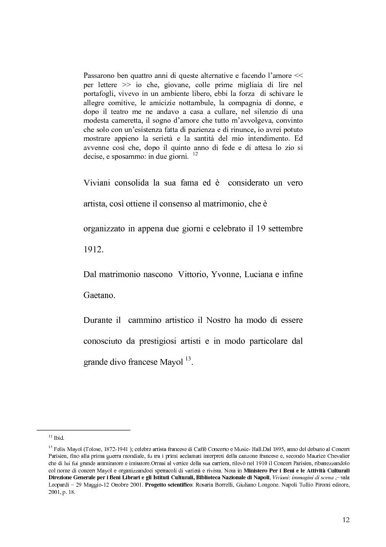 Anteprima della tesi: Viviani e il teatro dialettale, Pagina 11