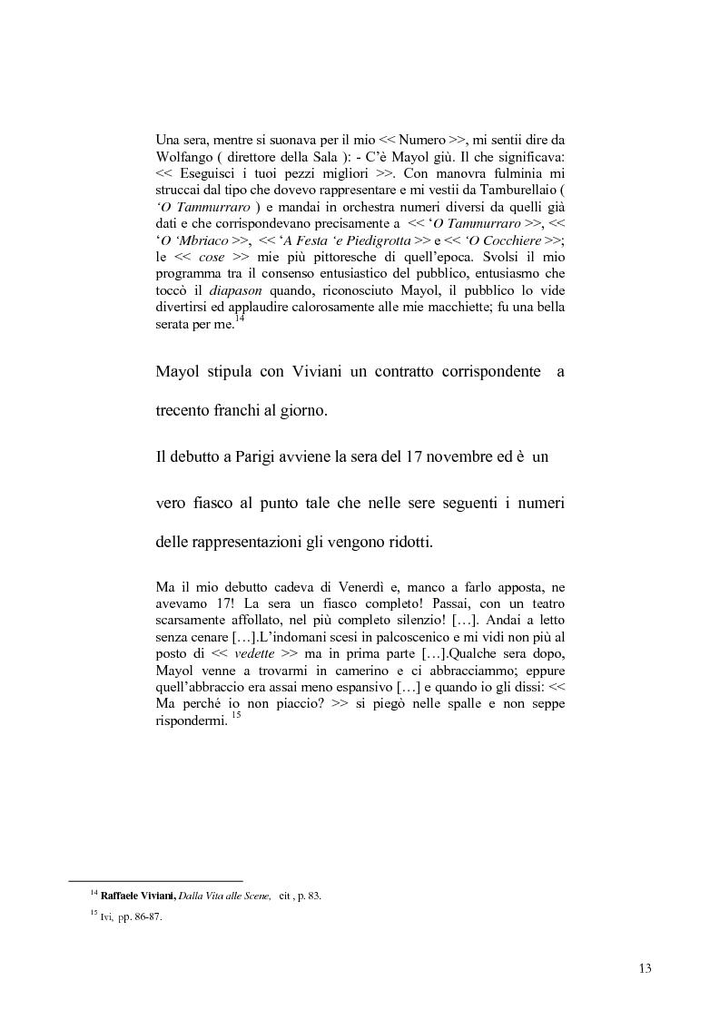 Anteprima della tesi: Viviani e il teatro dialettale, Pagina 12