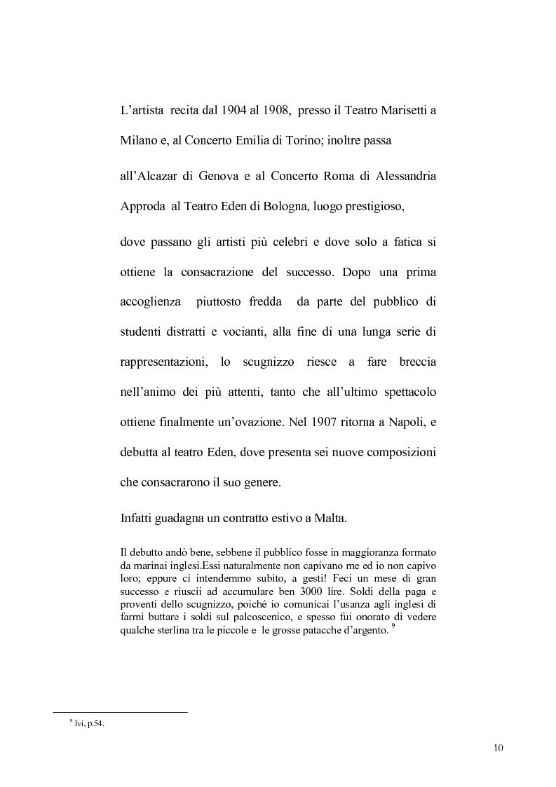 Anteprima della tesi: Viviani e il teatro dialettale, Pagina 9