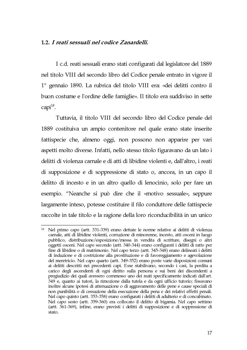 Anteprima della tesi: Aspetti di prostituzione minorile, Pagina 12