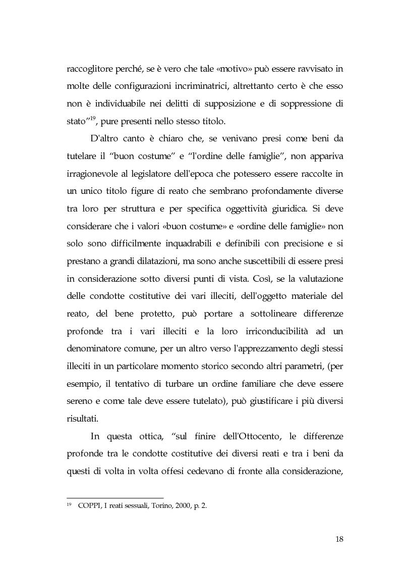 Anteprima della tesi: Aspetti di prostituzione minorile, Pagina 13