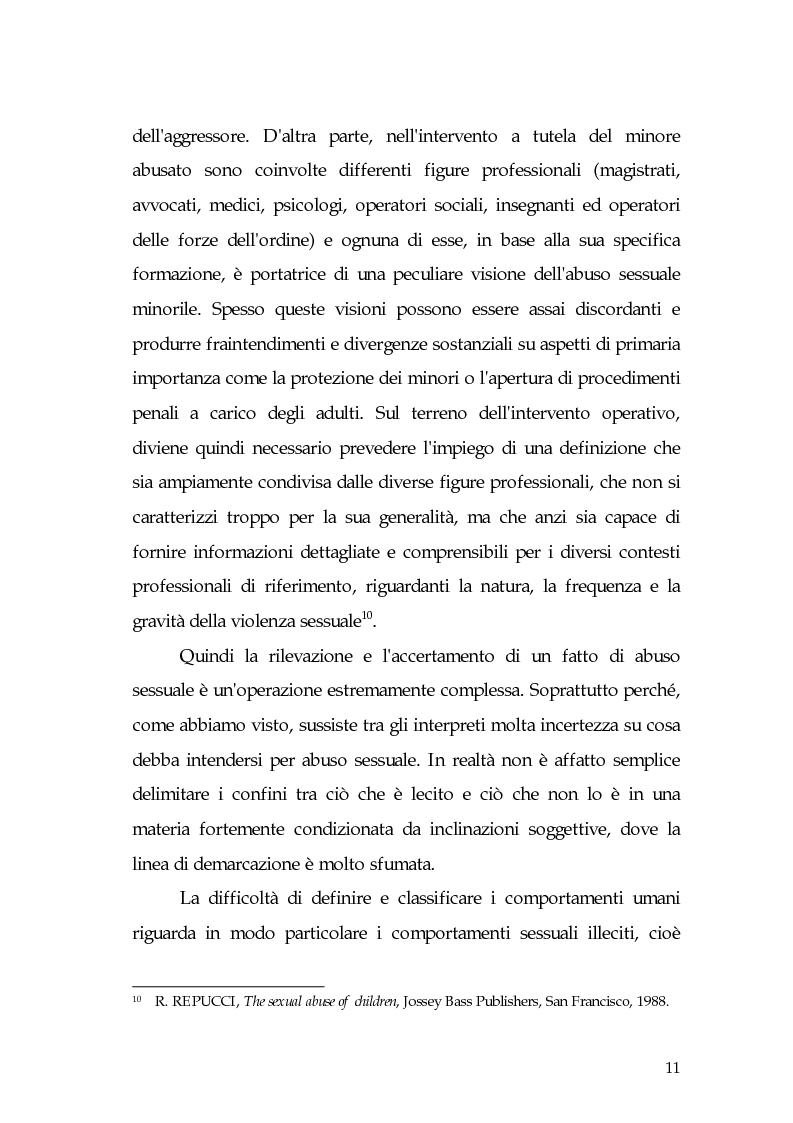 Anteprima della tesi: Aspetti di prostituzione minorile, Pagina 6