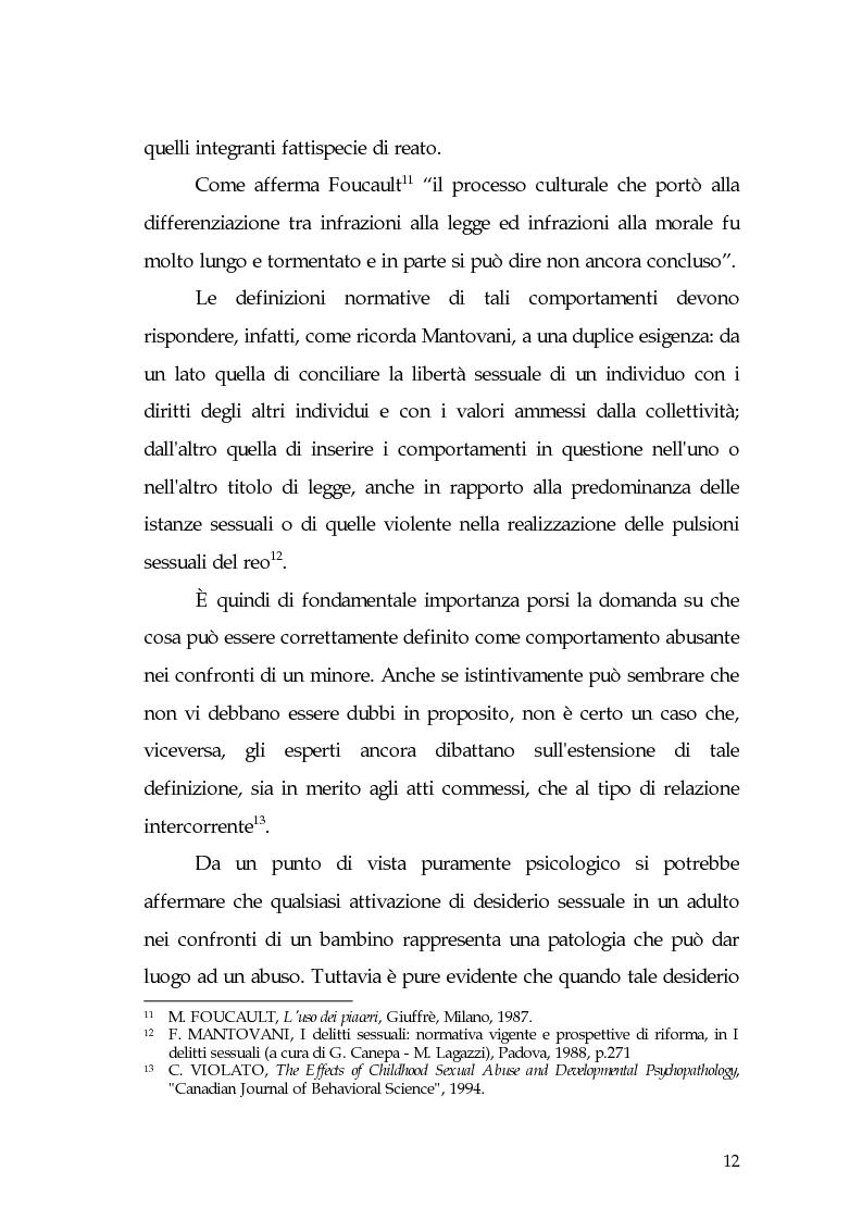 Anteprima della tesi: Aspetti di prostituzione minorile, Pagina 7