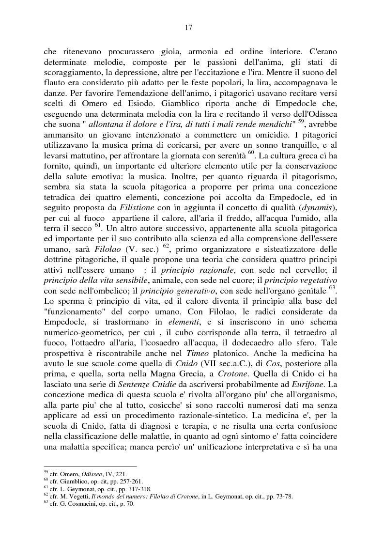 Anteprima della tesi: Aspetti e momenti del pensiero medico antico e medievale con particolare riguardo ai Consilia ed ai Regimina, Pagina 13