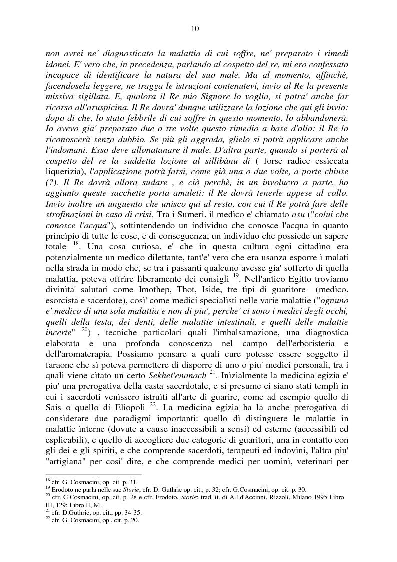 Anteprima della tesi: Aspetti e momenti del pensiero medico antico e medievale con particolare riguardo ai Consilia ed ai Regimina, Pagina 6
