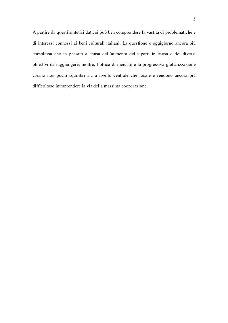Anteprima della tesi: Il turismo culturale vicentino: l'appeal esercitato dai beni ecclesiastici, Pagina 7