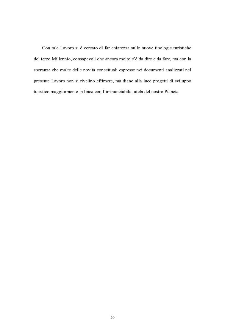 Anteprima della tesi: Le tipologie turistiche negli anni 2000: turismo sostenibile e turismo sociale, Pagina 14