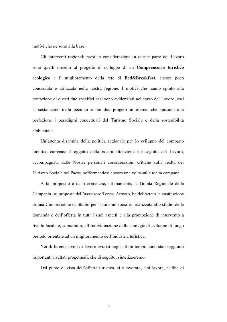 Anteprima della tesi: Le tipologie turistiche negli anni 2000: turismo sostenibile e turismo sociale, Pagina 6