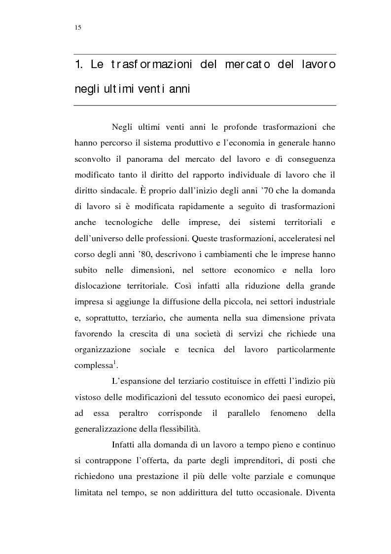 Anteprima della tesi: Il lavoro interinale, Pagina 1