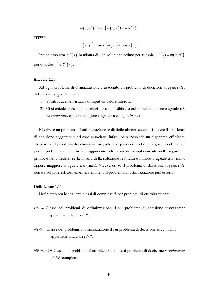 Anteprima della tesi: Analisi e sperimentazione di algoritmi di scheduling bicriterio, Pagina 10