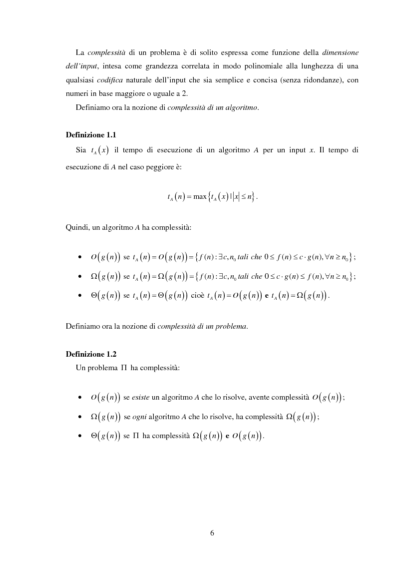 Anteprima della tesi: Analisi e sperimentazione di algoritmi di scheduling bicriterio, Pagina 6