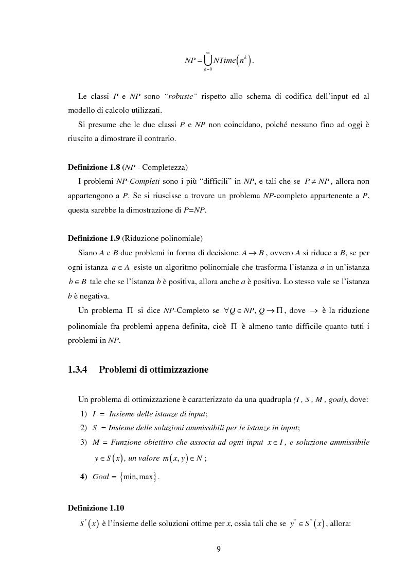 Anteprima della tesi: Analisi e sperimentazione di algoritmi di scheduling bicriterio, Pagina 9