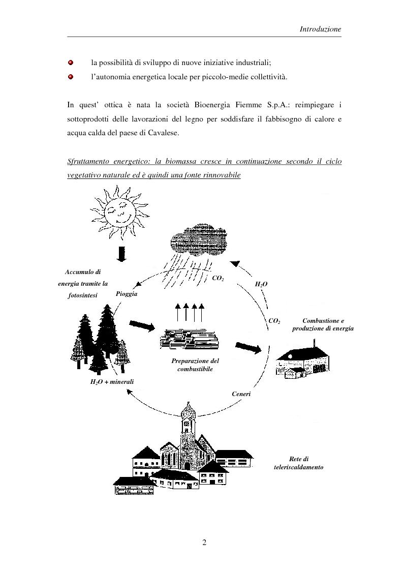Anteprima della tesi: Gli impianti di teleriscaldamento per lo sviluppo sostenibile. Analisi del caso di Cavalese, Pagina 2