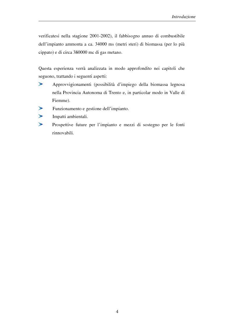 Anteprima della tesi: Gli impianti di teleriscaldamento per lo sviluppo sostenibile. Analisi del caso di Cavalese, Pagina 4
