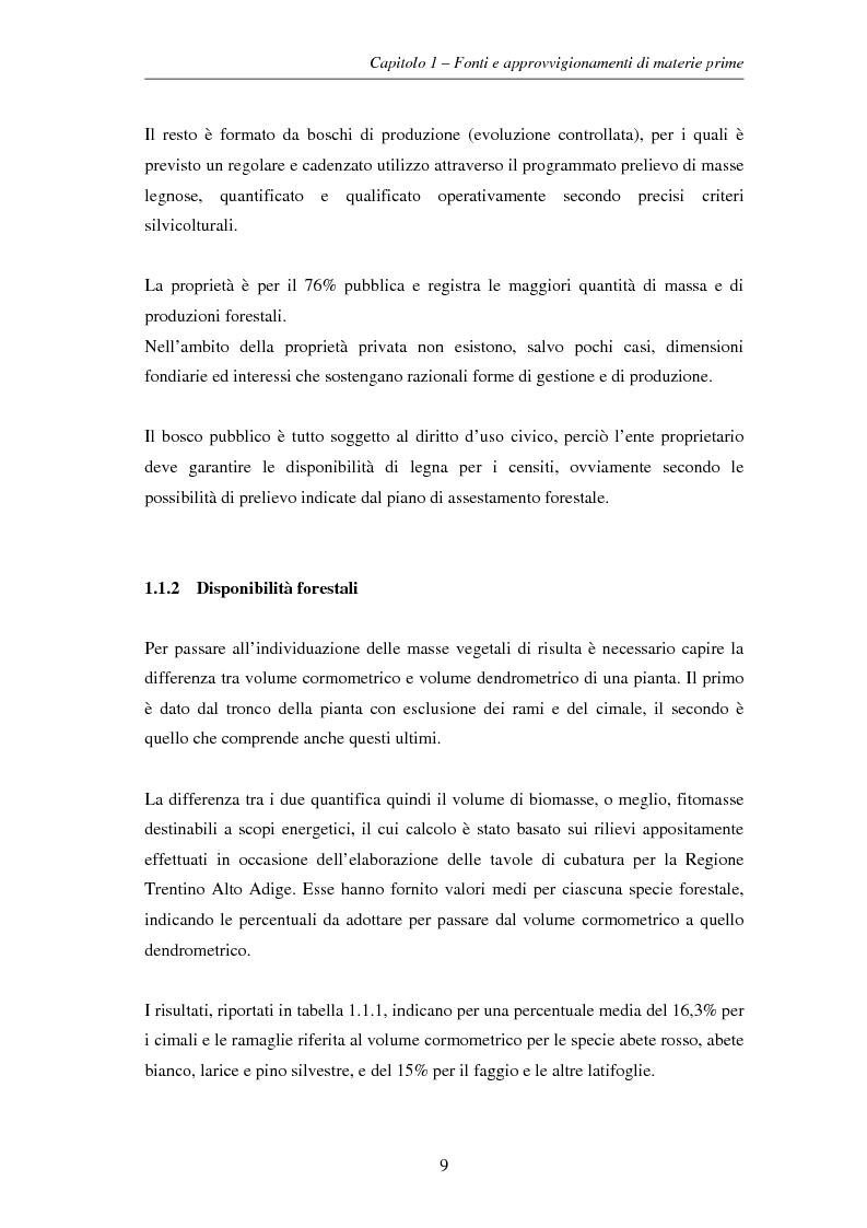 Anteprima della tesi: Gli impianti di teleriscaldamento per lo sviluppo sostenibile. Analisi del caso di Cavalese, Pagina 9