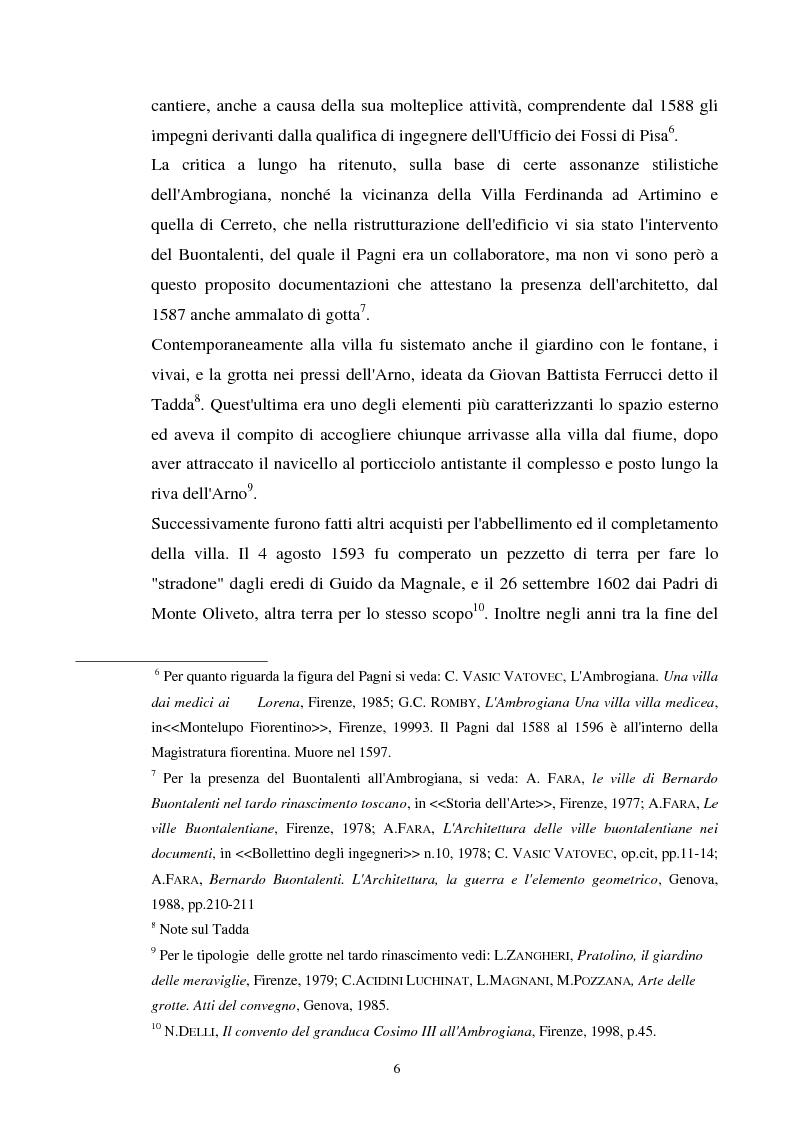 Anteprima della tesi: La villa dell'Ambrogiana e i Lorena, Pagina 4