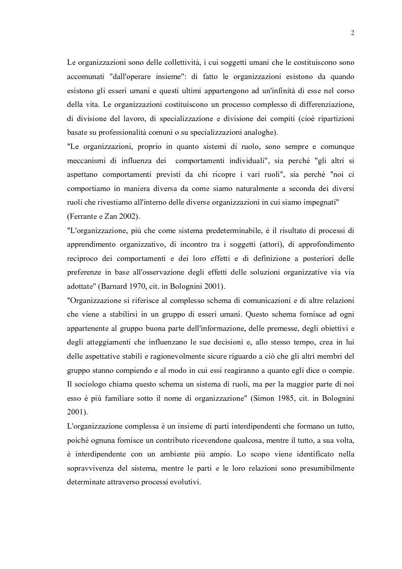Anteprima della tesi: La gestione efficace della ricchezza ''risorse umane'' come fattore di sviluppo organizzativo e vantaggio competitivo: il contributo dell'intervento formativo, Pagina 6