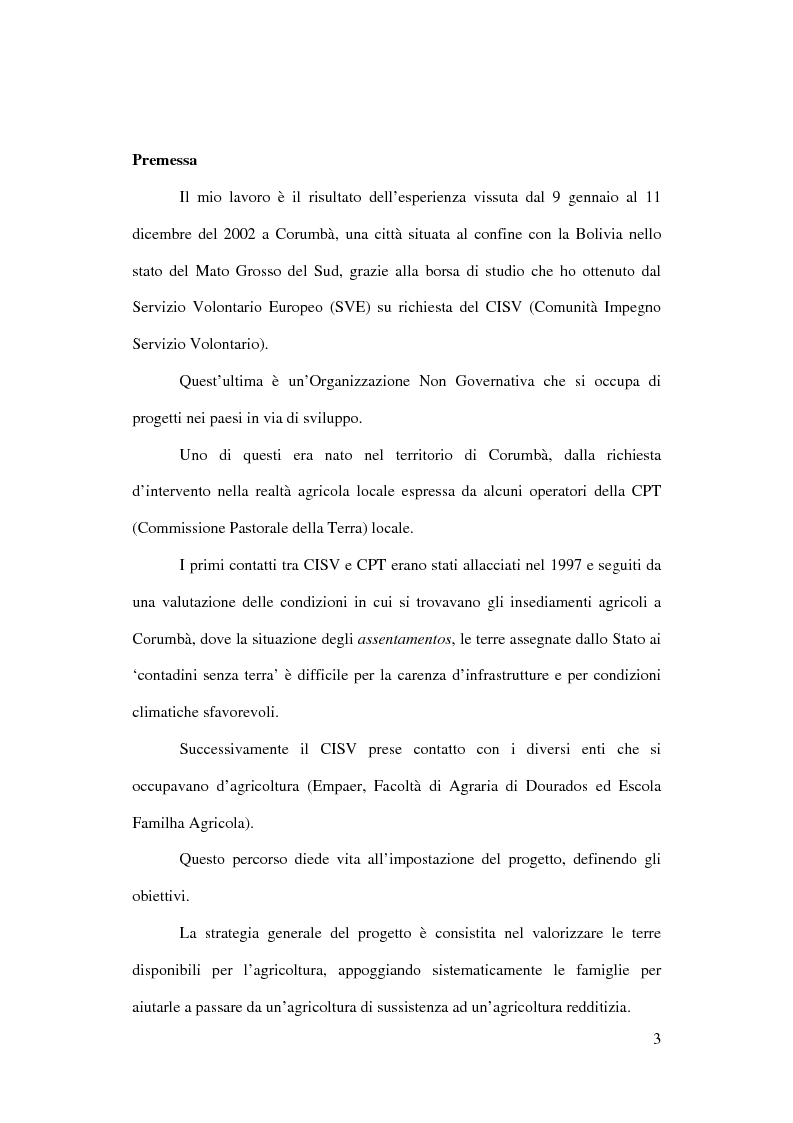 Anteprima della tesi: Terra: uno spazio di vita. Il caso di Corumbà, Pagina 1
