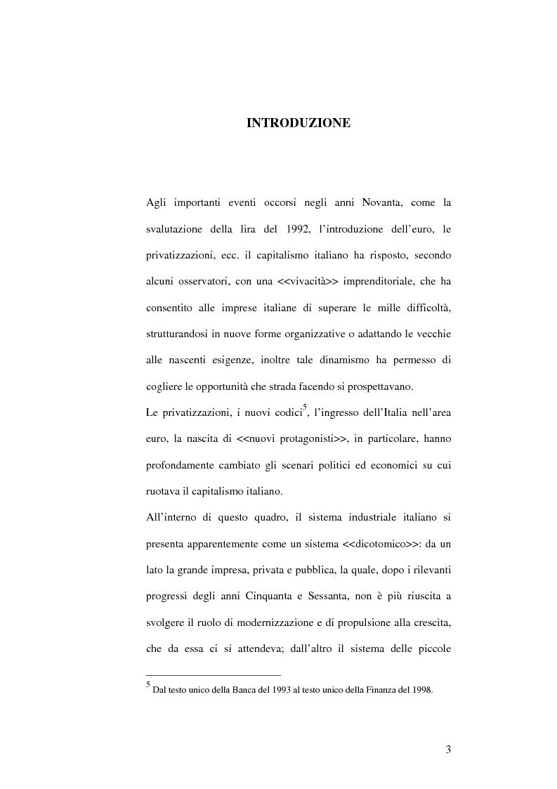 Anteprima della tesi: Il capitalismo italiano negli anni Novanta, Pagina 3