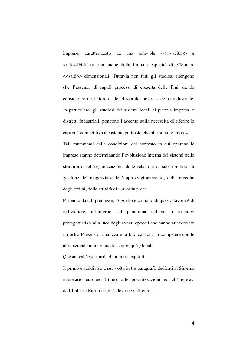 Anteprima della tesi: Il capitalismo italiano negli anni Novanta, Pagina 4