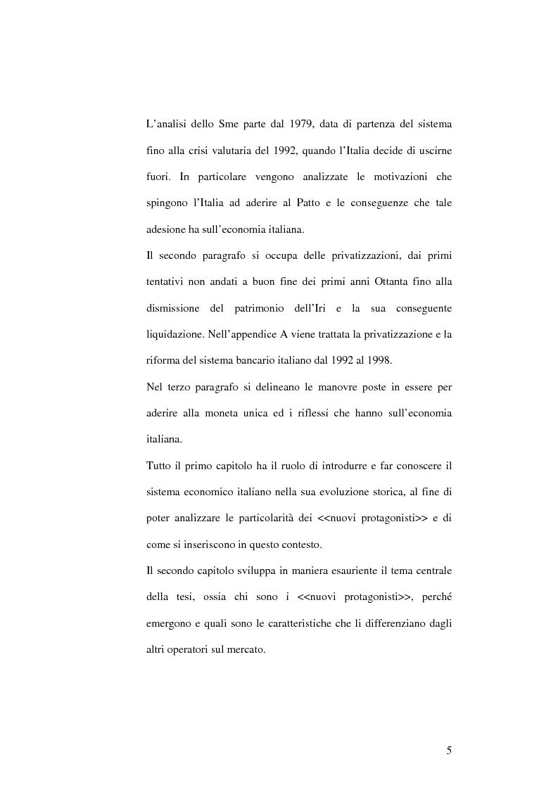 Anteprima della tesi: Il capitalismo italiano negli anni Novanta, Pagina 5